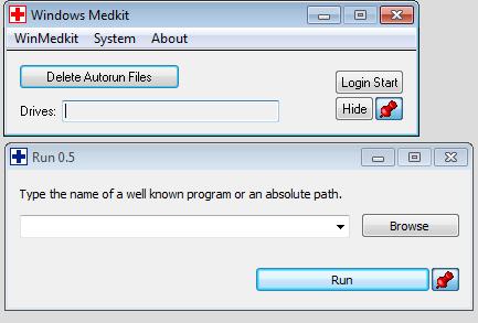 Интерфейс Windows Medkit
